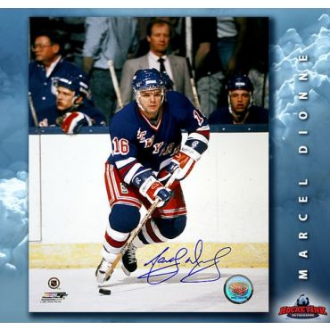 Marcel Dionne New York Rangers 8 x 10 Autographed Photo