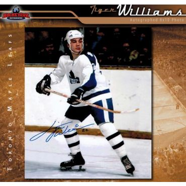Tiger Williams Toronto Maple Leafs 8 x 10 Autographed Photo
