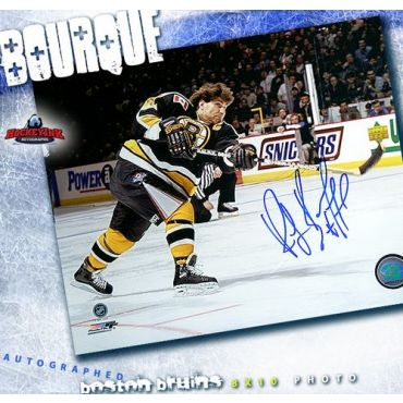 Ray Bourque Boston Bruins Autogaphed 8 x 10 Photo