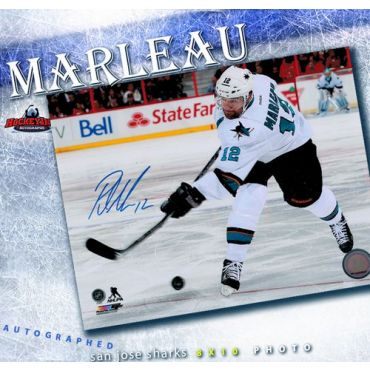 Patrick Marleau San Jose Sharks 8 x 10 Autographed Photo