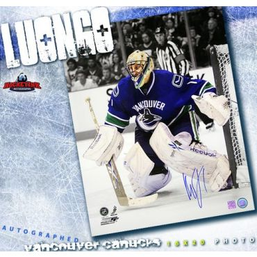 Roberto Luongo Vancouver Canucks 16 x 20 Autographed Photo