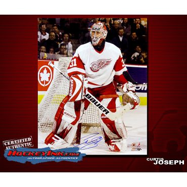 Curtis Joseph 16 x 20 Autographed Photo