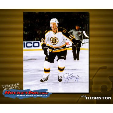 Joe Thornton  Home Action 16 x 20 Autographed Photo