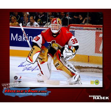 Dominik Hasek Ottowa Senators 16 x 20 Autographed Photo