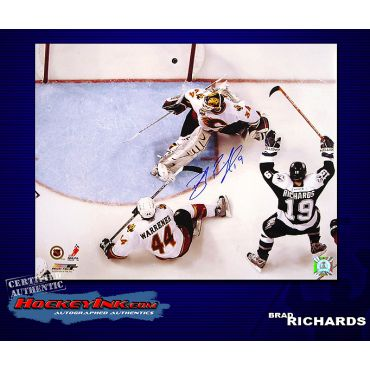 Brad Richards Tamp Bay Lightning 16 x 20 Autographed Photo