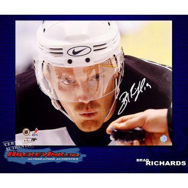 Brad Richards Tamp Bay Lightning 16 x 20 Autographed Photo