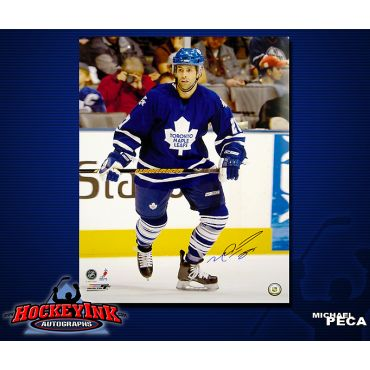 Michael Peca Toronto Maple Leafs 16 x 20 Autographed Photo