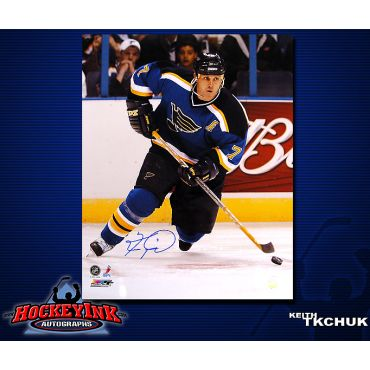 Keith Tkachuk St. Louis Blues 16 x 20 Autographed Photo