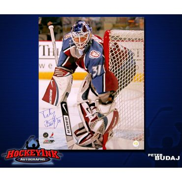 Peter Budaj Colorado Avalanche 16 x 20 Autographed Photo