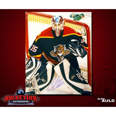 Alex Auld Florida Panthers 16 x 20 Autographed Photo