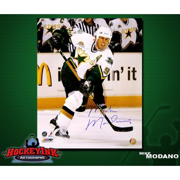 Mike Modano Dallas Stars 16 x 20 Autographed Photo