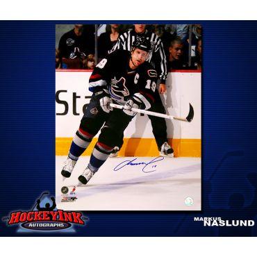 Markus Naslund Vancouver Canucks 16 x 20 Autographed Photo