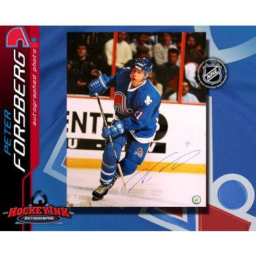 Peter Forsberg Quebec Nordiques 16 x 20 Autographed Photo
