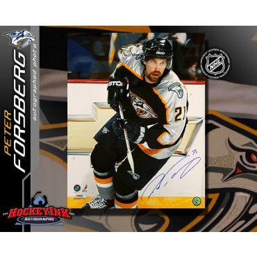 Peter Forsberg Nashville Predators 16 x 20 Autographed Photo