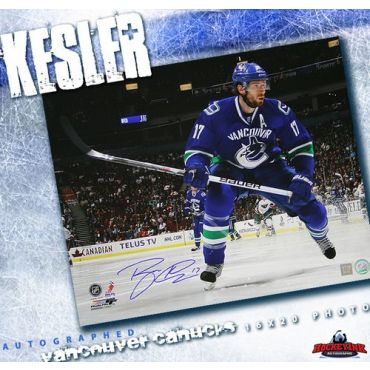 Ryan Kesler Vancouver Canucks Autographed 16 x 20 Photo