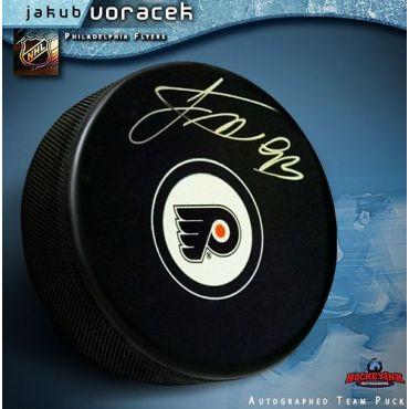 Jakub Voracek Philadelphia Flyers Autographed Hockey Puck
