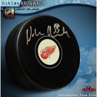 Niklas Kronwall Detroit Red Wings Autographed Hockey Puck