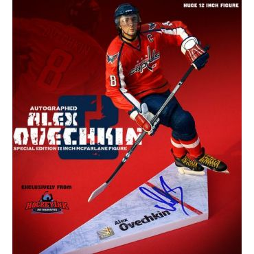 Alexander Ovechkin Washington Capitals Signed Special Edition 12 Inch McFarlane Figurine