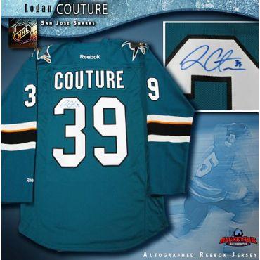 Logan Couture San Jose Sharks Autographed Reebok Premier Jersey