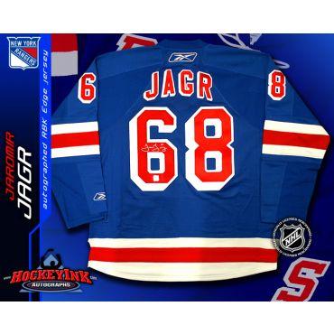 Jaromir Jagr New York Rangers Blue Reebok Premier Jersey