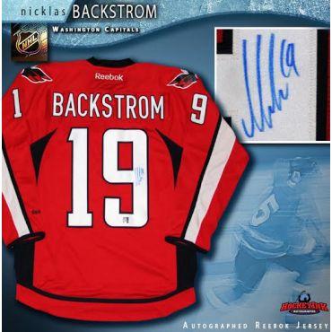 Nicklas Backstrom Washington Capitals Red Reebok Premier Jersey