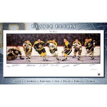 Boston Bruins Limited Edition Lithograph