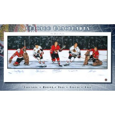 Chicago Blackhawks Limited Edition Lithograph
