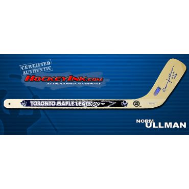 Norm Ullman Autographed Toronto Maple Leafs Mini-Stick