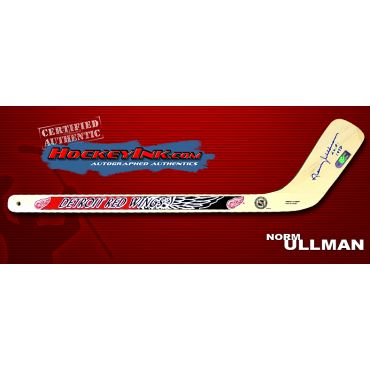 Norm Ullman Autographed Detroit Red Wings Mini-Stick