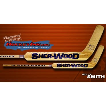 Billy Smith Autographed Sherwood Model Stick