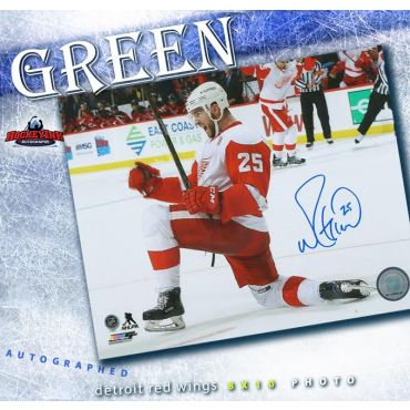 Mike Green Detroit Red Wings Autographed 8 x 10 Photo