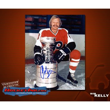 Bob Kelly Autographed Philadelphia Flyers 8 x 10 Photo