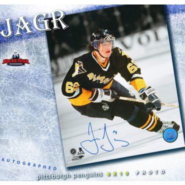 Jaromir Jagr Pittsburgh Penguins Autographed 8 x 10 Photo