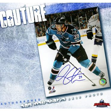 Logan Couture San Jose Sharks Autographed 8 x 10 Photo