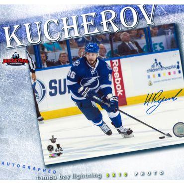 Nikita Kucherov Autographed Tampa Bay Lightning 8 x 10 Photo