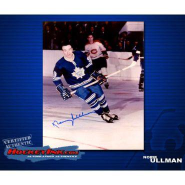 Norm Ullman Toronto Maple Leafs 8 x 10 Autographed Photo