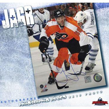 Jaromir Jagr Philadelphia Flyers Autographed 8 x 10 Photo
