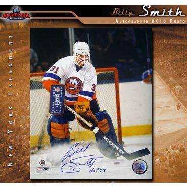 Billy Smith New York Islanders 8 x 10 Autographed Photo