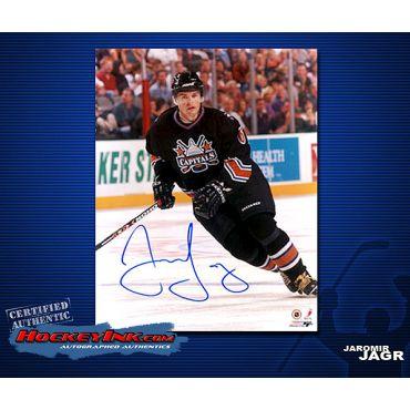 Jaromir Jagr Washington Capitals 8 x 10 Autographed Photo