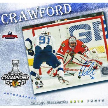 Corey Crawford Chicago Blackhawks Autographed 8 x 10 Photo