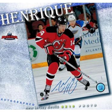 Adam Henrique New Jersey Devils 8 x 10 Autographed Photo