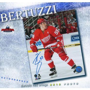 Tyler Bertuzzi Detroit Red Wings 8 x 10 Autographed Photo