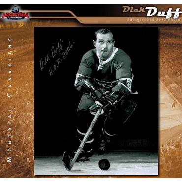 Dick Duff Toronto Maple Leafs 8 x 10 Autographed Photo