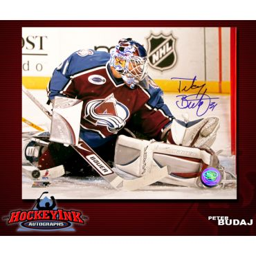 Peter Budaj Colorado Avalanche 8 x 10 Autographed Photo