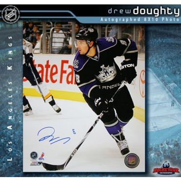 Drew Doughty Los Angeles Kings 8 x 10 Autographed Photo