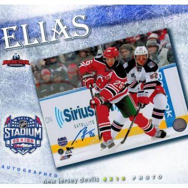 Patrik Elias New Jersey Devils 8 x 10 Autographed Photo