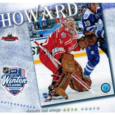 Jimmy Howard Detroit Red Wings 8 x 10 Autographed Photo