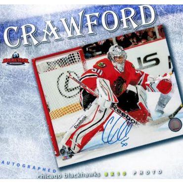 Corey Crawford Chicago Blackhawks 8 x 10 Autographed Photo