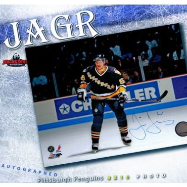 Jaromir Jagr Pittsburgh Penguins 8 x 10 Autographed Photo
