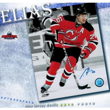 Patrik Elias New Jersey Devils 8 x 10 Autographed Photo